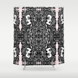 Baroque Head Shower Curtain