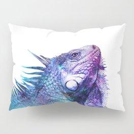 Galactic Iguana Pillow Sham