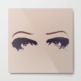 Hedwig's Eyes (with JCM) Metal Print