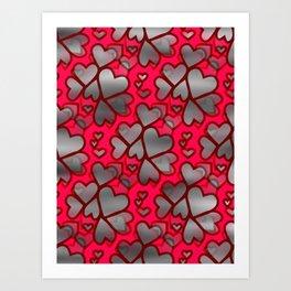 Heart Connection Art Print