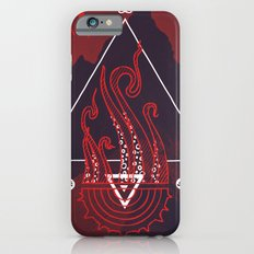 Mountain of Madness (red) iPhone 6s Slim Case