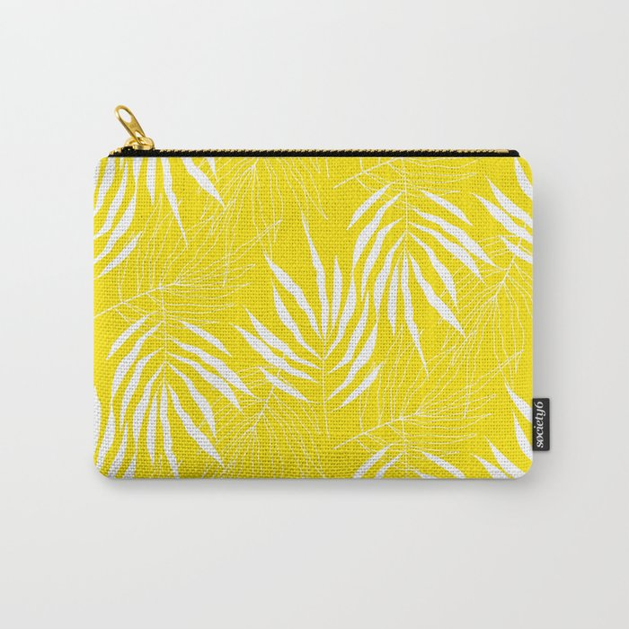Ash Tree Leaves Scandianvian Pattern Carry-All Pouch