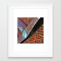 odd future Framed Art Prints featuring Odd by iveta.martin