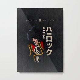 045 Harlock Jap Metal Print