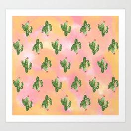 Cacti Art  Art Print