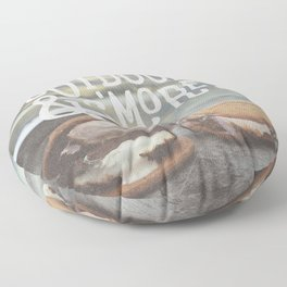 outdoors & S'mores Floor Pillow