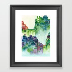 bridge city Framed Art Print