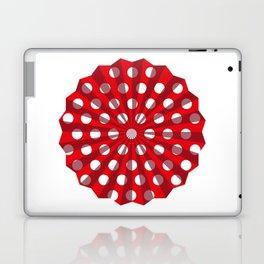 Lantern of white polka dots Laptop & iPad Skin