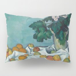 "Paul Cezanne ""Still Life with Apples and a Pot of Primroses"" Pillow Sham"