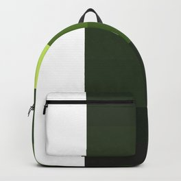 Green Yellow Blocks Backpack