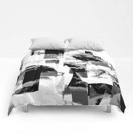 Circle Glitch Comforters