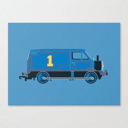 Tommy the Van Engine Canvas Print