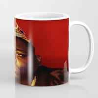 biggie smalls Mugs featuring Biggie by I Love Decor