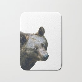Brown bear Bath Mat