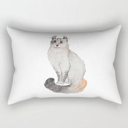 American Curl Cat Rectangular Pillow