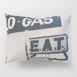 Rainbows, Gas and Eats Pillow Sham
