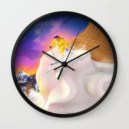 Snow Cone Wall Clock