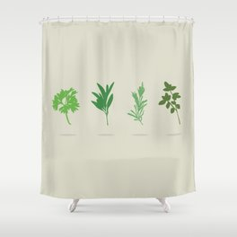 scarborough fair shower curtain