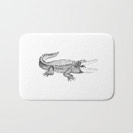 The Crocodile Bath Mat