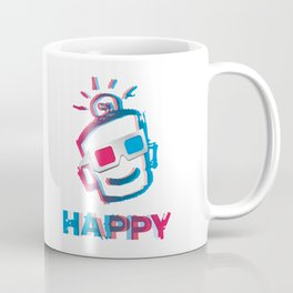 3D HAPPY Coffee Mug