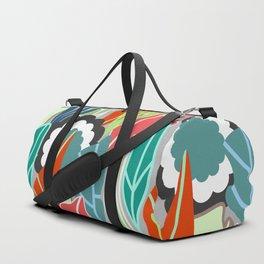 Floral jungle Duffle Bag