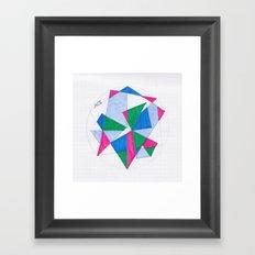 Kite-Netic #2 Framed Art Print