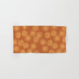 Orange Nasturtium Seamless Patten Hand & Bath Towel