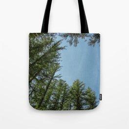 Blue Sky Above Tote Bag