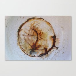 Tree of life in an old wash bowl Canvas Print