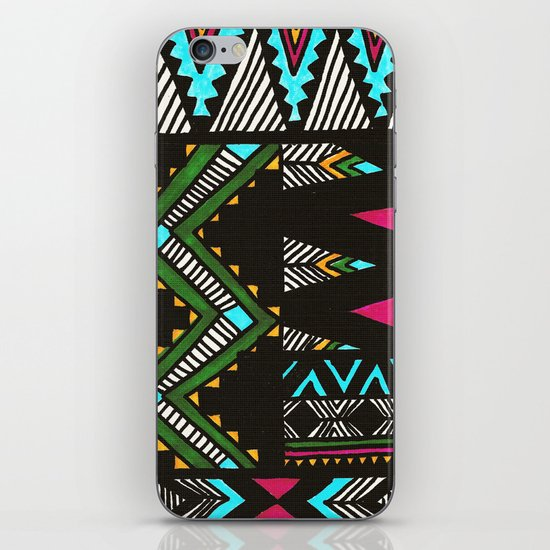 Tribal Dark iPhone & iPod Skin