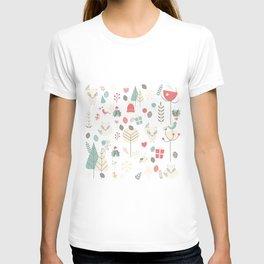 Baby fox pattern 03 T-shirt