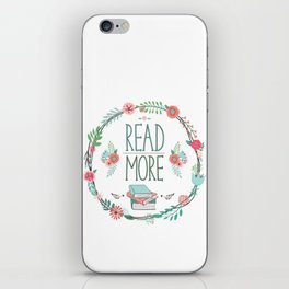 Read More Floral Wreath iPhone Skin