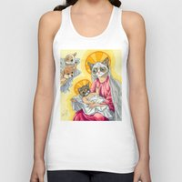 christ Tank Tops featuring Internet Christ  by Quigley Down Under
