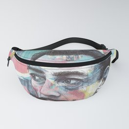 Salvador Dali - The Invisible Man's Cosmic Contemplation Fanny Pack