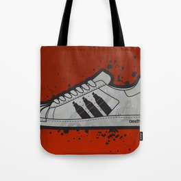 Aesthetix 3 Pens Superstar (Safety Orange) Tote Bag