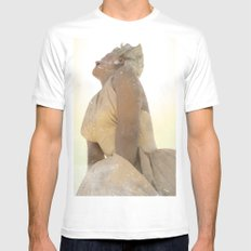 oh marilyn...  White Mens Fitted Tee MEDIUM