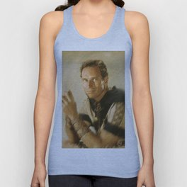 Charlton Heston Unisex Tank Top
