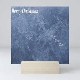 Christmas Snowflakes Mini Art Print