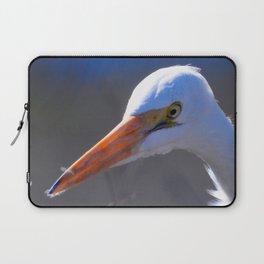 Great Egret Laptop Sleeve
