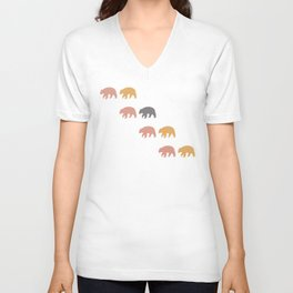 Black Bear (Pollen) Unisex V-Neck