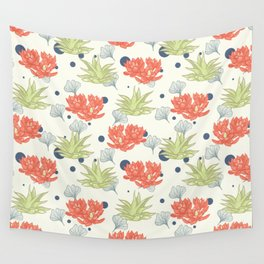 Succulent Pattern. no1 Wall Tapestry