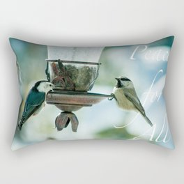 Peace For All by CheyAnne Sexton Rectangular Pillow