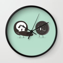 Cookies and Scream Wall Clock