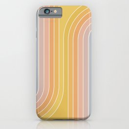 Gradient Curvature III iPhone Case