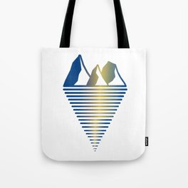 Mountain & Inlet Tote Bag