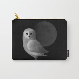 Barn Owl Full Moon Carry-All Pouch