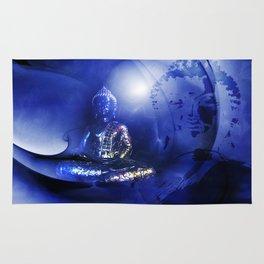 Blue Buddha Rug