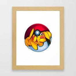 MonGo Ball Framed Art Print