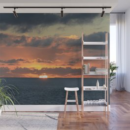 Heavenly Sunset Wall Mural