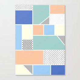 Geometric Calendar - Day 15 Canvas Print